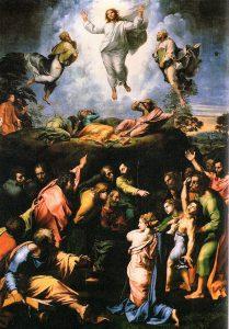 ラファエロの『キリストの変容』を観る